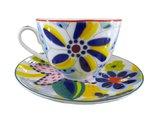 Чашка с блюдцем Таня, ф. Весенняя-2 ИФЗ 81.23852.00.1