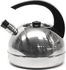 Чайник со свистком и крышкой, нерж. 3.0л АМЕТ 1с44