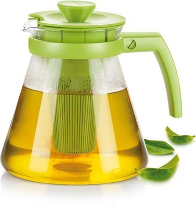 Чайник Tescoma Teo 1.25л, с ситечками для заваривания, зелёный 646623.25
