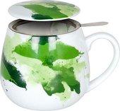 Кружка заварочная Koenitz Зеленые краски, 420мл 11 5 143 2357