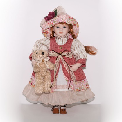 Кукла фарфоровая Лолита 41см Top Art Studio WS2252-TA
