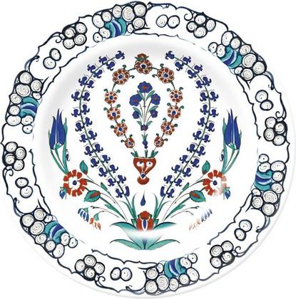 Тарелка Гиацинт Изник Музей Лондона, 19см Creative Tops 5151700