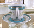 Чашка с блюдцем Северная Аврора, ф. Банкетная ИФЗ 81.23155.00.1