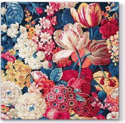 Салфетки для декупажа Цветочное великолепие, 33x33, 20шт Paw SDL055600