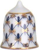 Напёрсток фарфоровый ИФЗ Кобальтовая сетка, Шлем 80.09557.00.1