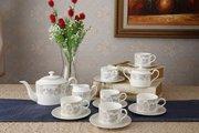 Набор чайных пар Top Art Studio Жардан Беж, 12 предметов YF2075-TA