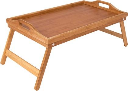 Столик сервировочный 50х30х6.5см Bamboo Regent Inox 93-BM-7-01.1