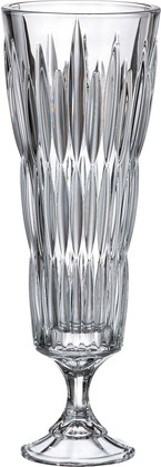 Ваза на ножке Нова-Сатурн 37см Crystalite Bohemia 8KG80/1/99U86/370