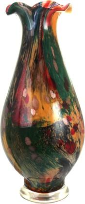 Ваза Top Art Studio, цветное стекло, 46см ZB2194-TA
