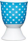 Подставка для яйца KitchenCraft Blue Polka Dot KCEGGPOLKABLU