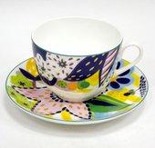 Чашка с блюдцем Букет для Юлии, ф. Весенняя-2 ИФЗ 81.25986.00.1