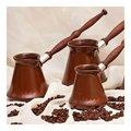 Турка для кофе керамическая 0.5л, шоколад с декором Ceraflame IBRIKS D93328