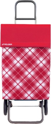 Сумка-тележка Rolser Capri, 2 колеса, красная JEA021rojo