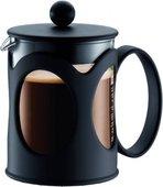Кофейник с прессом, 0.5л, чёрный Bodum Kenya 10683-01