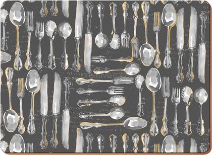 Подставки под тарелки на стол Creative Tops Антикварный салон 40х29см, 4шт, пробка 5176593