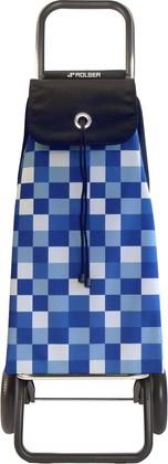 Сумка-тележка хозяйственная голубая ROLSER Convert RG IMX031azul