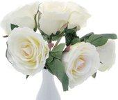 Букет роз искусственный Top Art Studio белый HAF0342-TA
