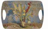 Поднос большой Lesser & Pavey Ван Гог Ваза с гладиолусами, 49x30см LP94458A