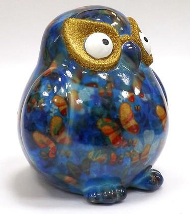 Копилка Сова ERROL голубая Pomme-Pidou 148-00037/6