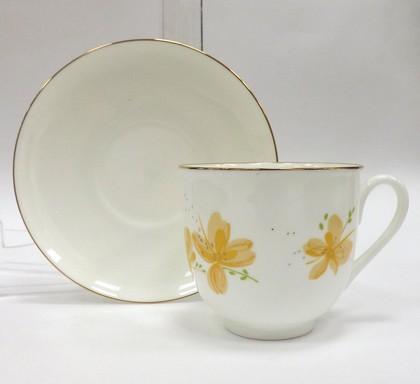 Чашка с блюдцем Жёлтые цветы, ф. Ландыш ИФЗ 81.17579.00.1
