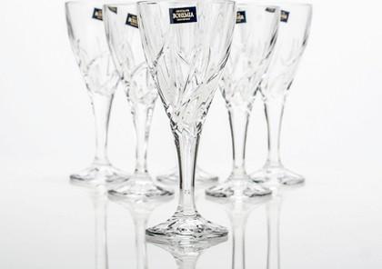 Фужеры для вина Эльза 170мл, 6 шт Crystalite Bohemia 1KD08/0/99Т81/170