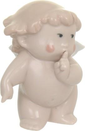 Статуэтка фарфоровая NAO Тихий ангелочек (Shush!) 8см 02005000