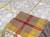 Скатерть Рогнеда 170x170, коричневый Белорусский лён 14c369/170x170/80/6