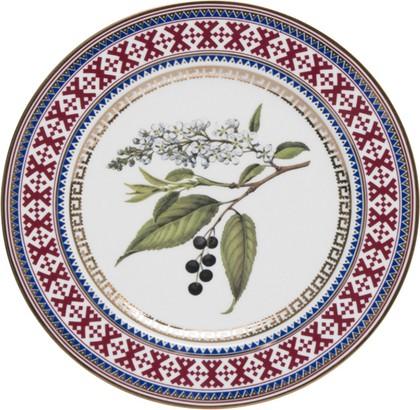 Тарелка декоративная Черемуха, ф. Европейская-2 ИФЗ 80.85950.00.1