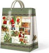 Пакет подарочный бумажный Paw Рождественский винтаж, 20x25x10см AGB017703