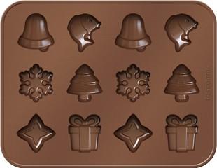 Формочки для шоколада, рождественские темы Tescoma DELICIA Choco 629372