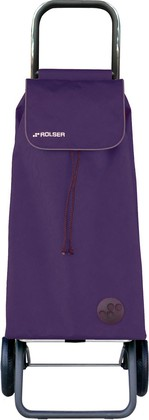 Сумка-тележка хозяйственная фиолетовая Rolser LOGIC RG PAC001more