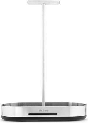 Подставка для масла / уксуса, матовая сталь / черный Brabantia 460166