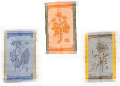 Набор льняных полотенец Ботаника 3шт. 50x70см Белорусский лён 09c45/104/0