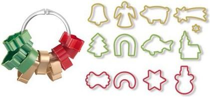 Формочки для рождественского печенья, 13шт. Tescoma DELICIA 630902.00