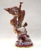 Скульптура Жар-птица малая, Дулёвский фарфор ДС807