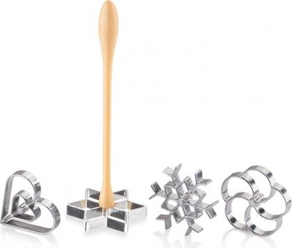 Формочки для вафельного печенья, 4шт Tescoma Delicia 630048.00