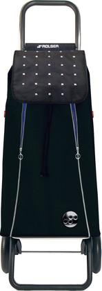 Сумка-тележка хозяйственная черно-синяя Rolser Logic RG IMX016negro/azul