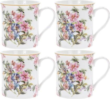Набор кружек Lesser & Pavey Розовая лилия 4шт, 300мл LP93787