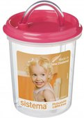 Детская чашка Sistema Hydrate с трубочкой, 250мл 40