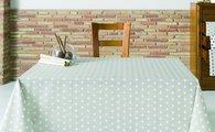 Скатерть текстильная 160х160см, бежевый горох Aitana Vangogh VANG/160160/plomo