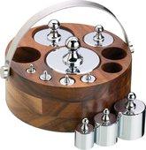 Набор метрических гирь KitchenCraft Natural Elements NEWGTMET10