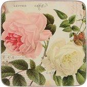 Подставки под чашку Creative Tops Rose Garden 10.5x10.5, 6шт, пробка 5176444