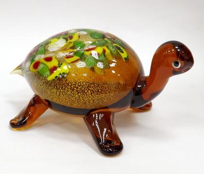 Фигурка Top Art Studio Черепаха 18x9см, стекло ZB1507-TA