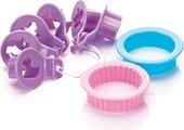 Формочки для детского песочного печенья, 8шт Tescoma Delicia 630911