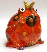 Копилка Царевна лягушка FREDDY оранжевая Pomme-Pidou 148-00003/3