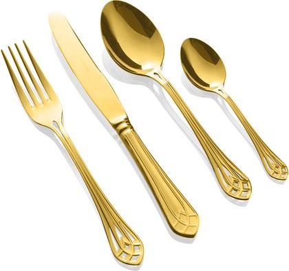 Столовые приборы, 24пр. Herdmar VITRAL GOLD 186302401172000017