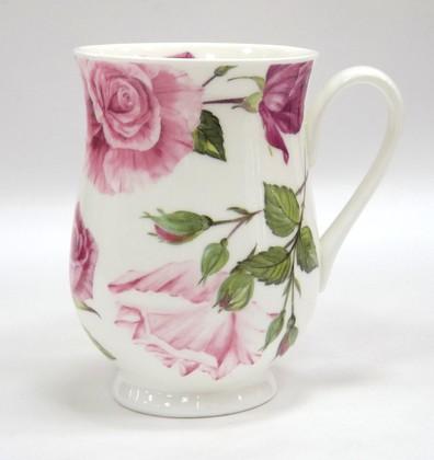 Кружка Цветение Роз, Элеонора, 325мл. Roy Kirkham XRDT1003