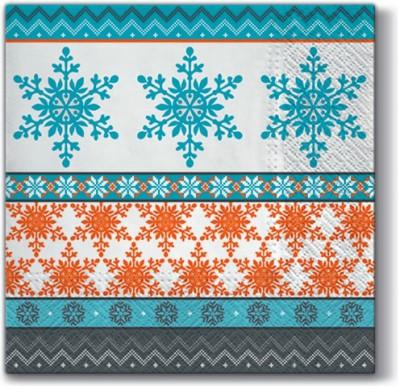 Салфетки для декупажа Paw Холодная зима, 33x33см, 20шт SDL098100