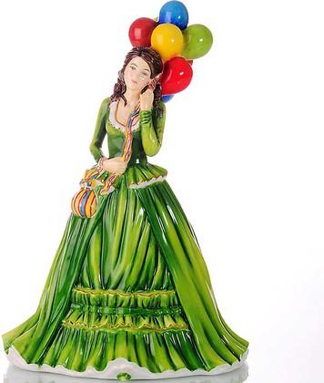 Статуэтка English Ladies Продавец воздушных шаров 22см фарфор ELGELS03601