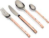 Набор столовых приборов Herdmar Cheese Copper, 24 предмета, зеркальная полировка, медный 111302427ELE10